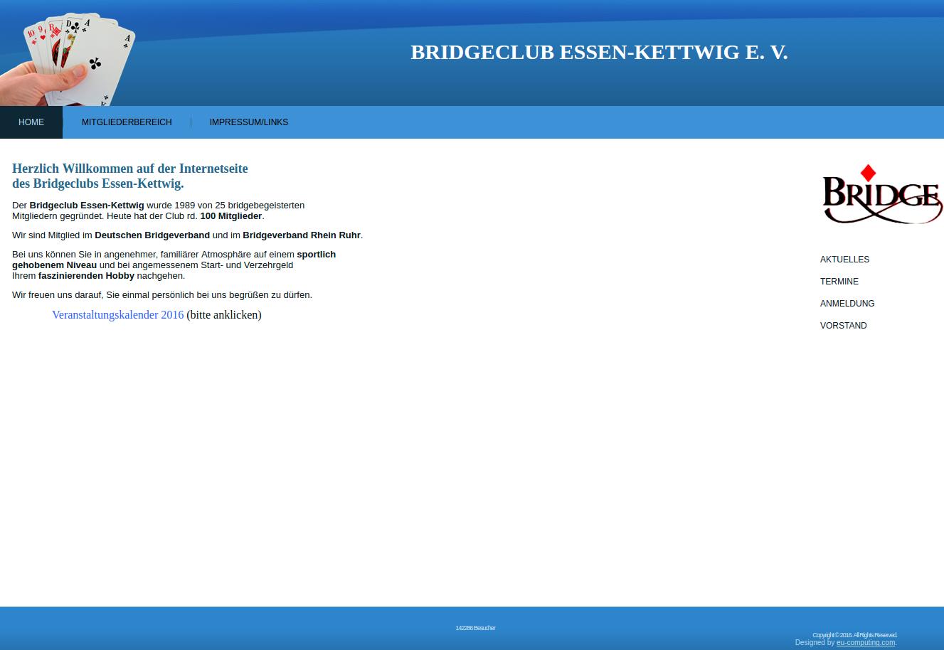 BC Kettwig Webseite